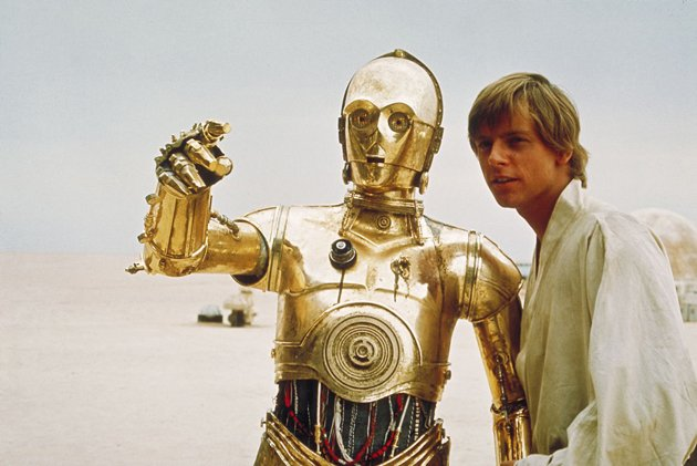 Luke Skywalker and C-3PO
